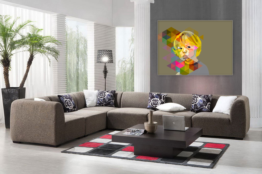 sabi koz digital art wall art commission