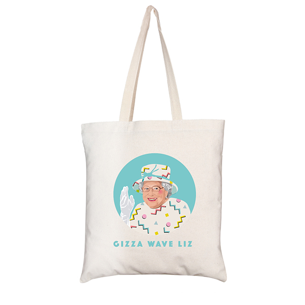Sabi Koz Queen Tote Bag in British Library Shop
