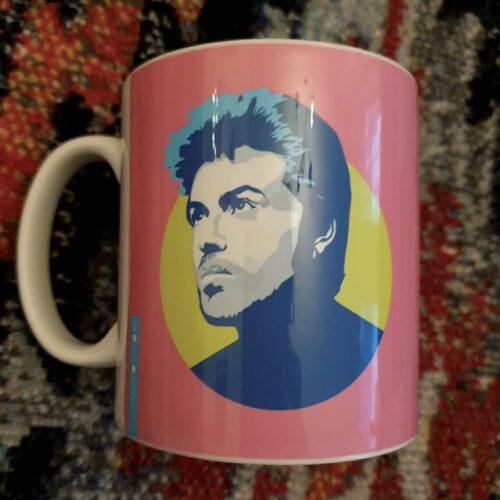 Gerge Michael Pink mug Sabi Koz Mug