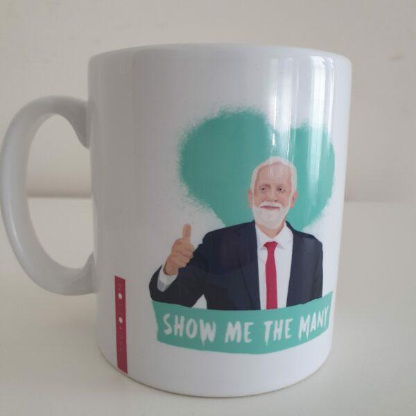 jeremy corbyn mug green