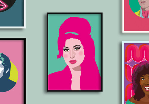 amy winehouse artwork by sabi koz