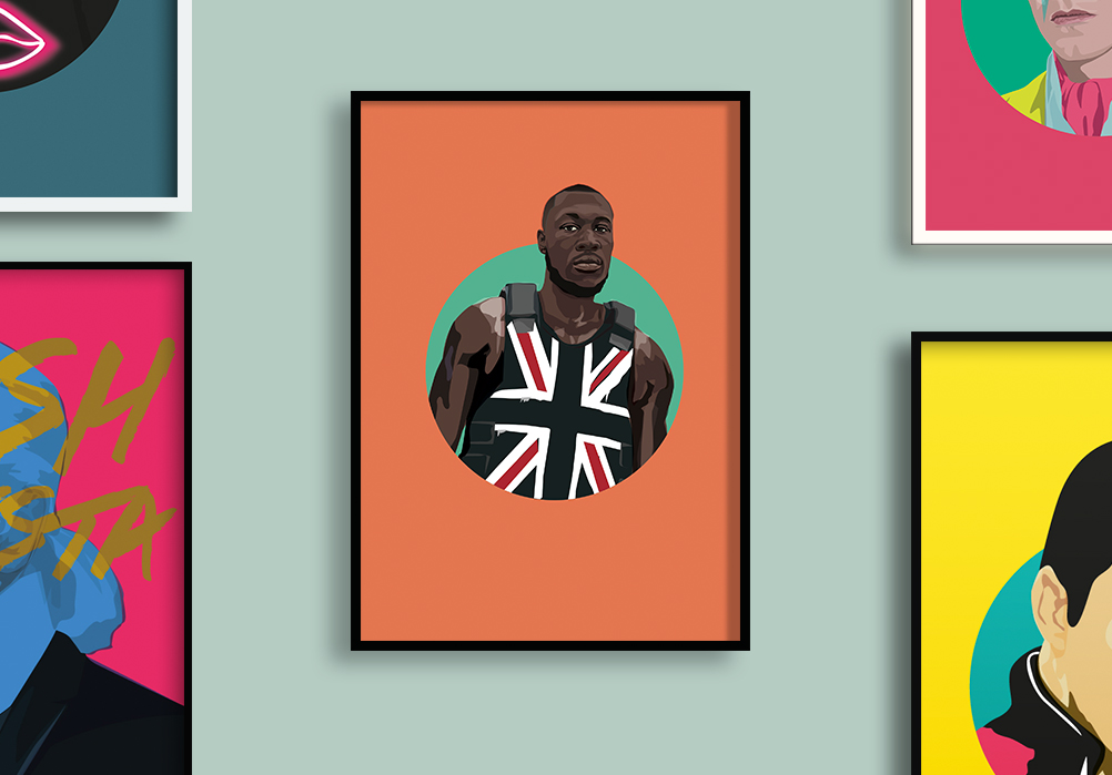 stormzy sabi koz illustration