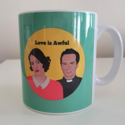 fleabag love is awful Sabi Koz mug