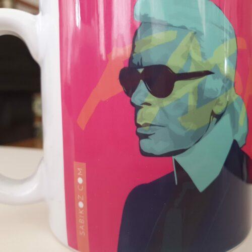 karl lagerfeld mug back