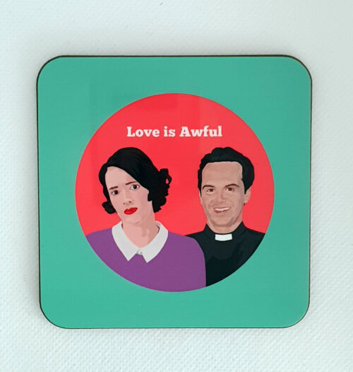 sabi koz Fleabag hot priest coaster