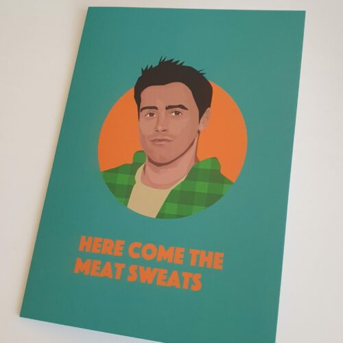 joey tribbiani card friends series