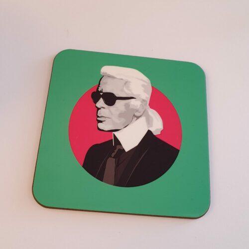 Sabi Koz Karl Lagerfeld Coaster