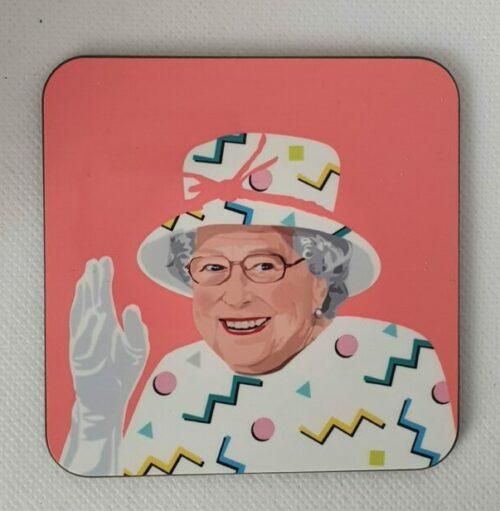 Queen Elizabeth Coaster - Pink- Sabi Koz