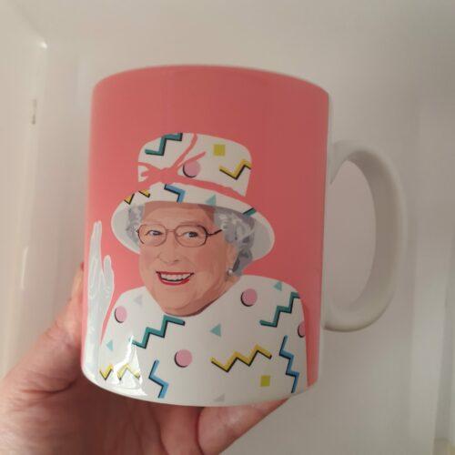 Queen Elizabeth Mug Pink Sabi Koz