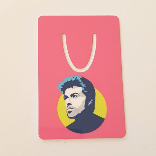 George Michael Bookmark Pink