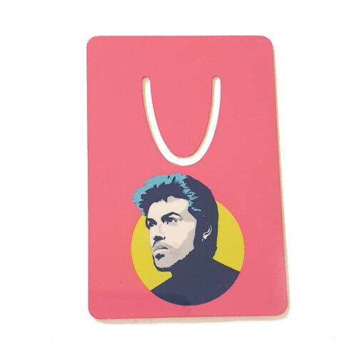 George Michael Bookmark Pink