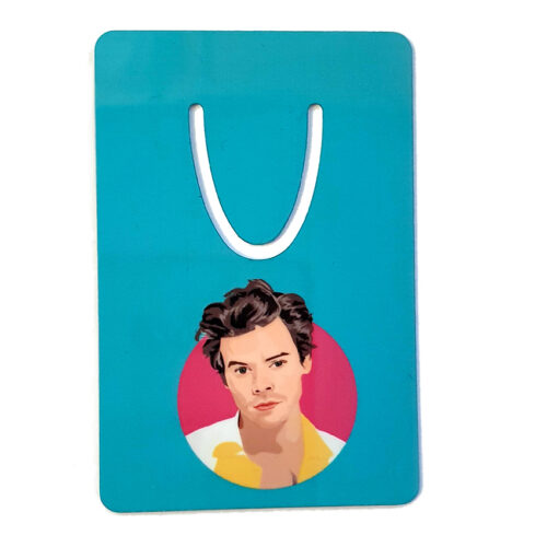 Harry Styles Blue Bookmark Sabi Koz