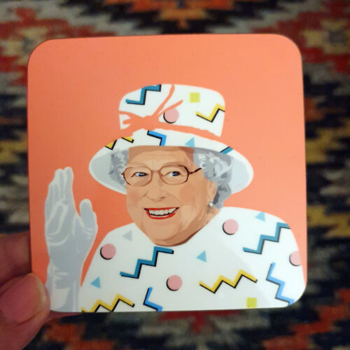Queen-Liz-Pink-coaster