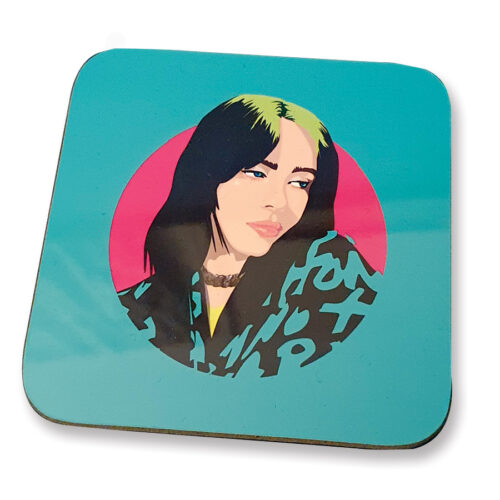 Billie Eilish Coaster Sabi Koz