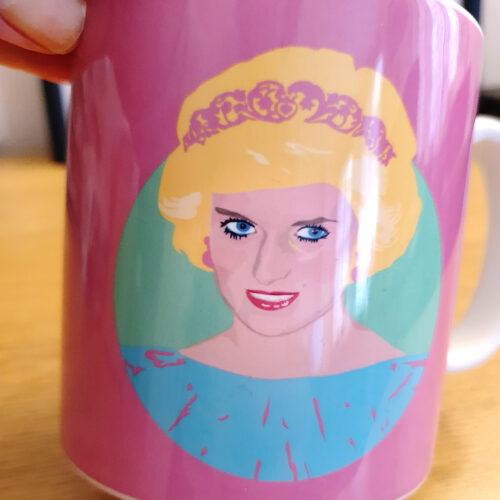 Princess Diana Mug Sabi Koz Mug Pink