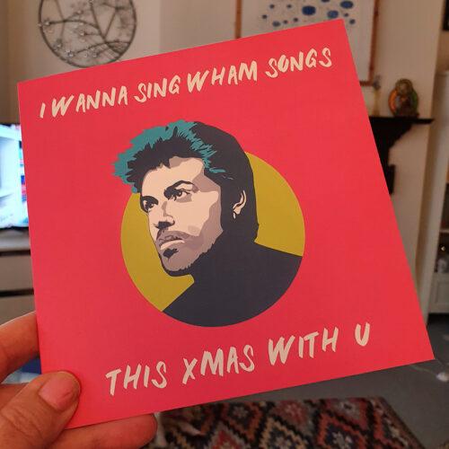 George Michael Christmas Card 2020