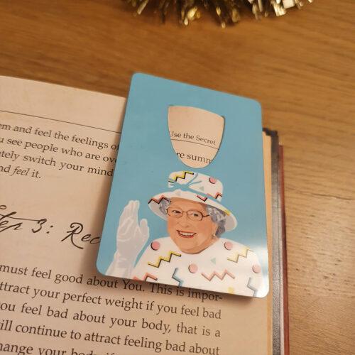 Queen Liz Bookmarks Sabi KOz