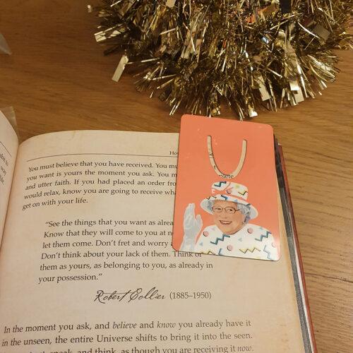 Queen Liz Bookmarks
