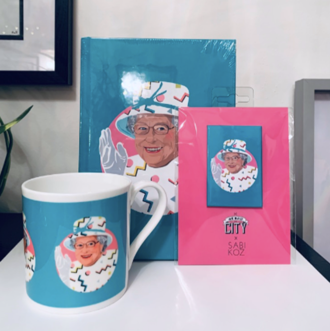 Sabi Koz Queen Elizabeth Gift Range now available in Heathrow T2