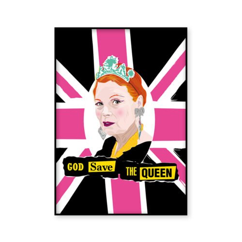 Vivienne Westwood Poster by Sabi Koz God Save the Queen