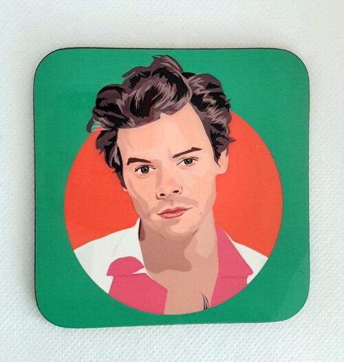 Harry Styles Coaster Green hardback