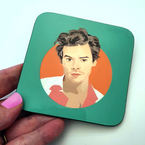 harry styles coaster green sabi koz