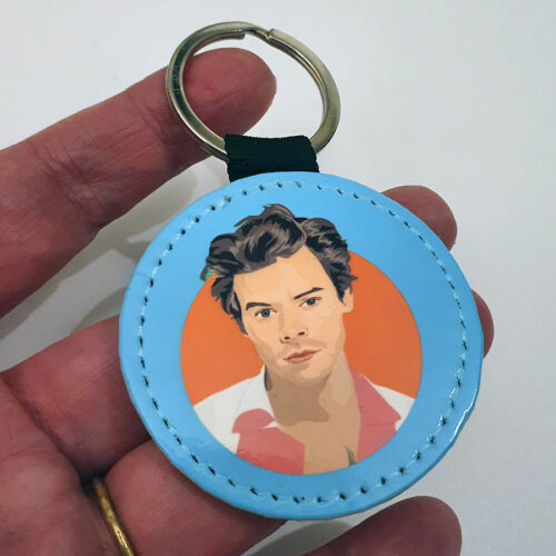 Harry Styles Blue Keyring Sabi Koz