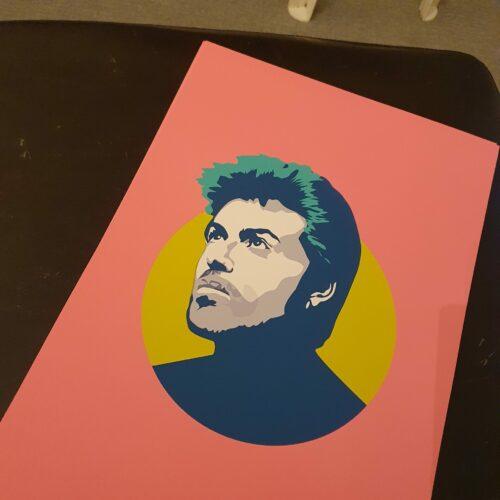 George-M-A3-Print-Pink Sabi Koz