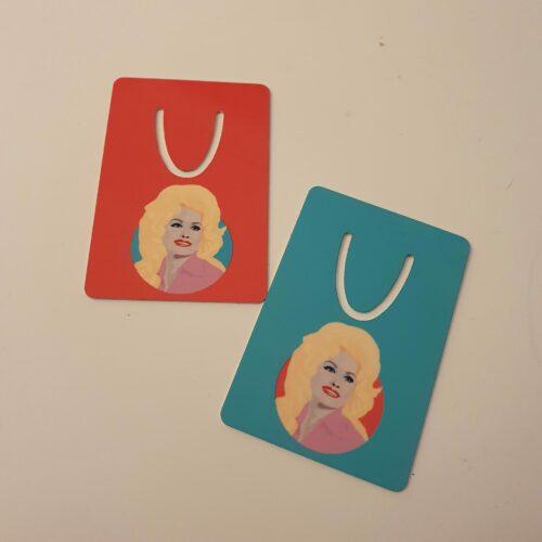 Dolly Parton bookmarks