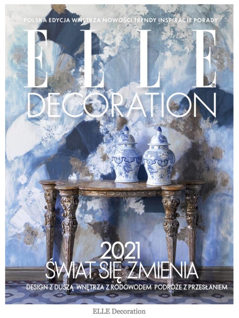 Elle Decoration magazine cover 2021 sabi koz george michael plate