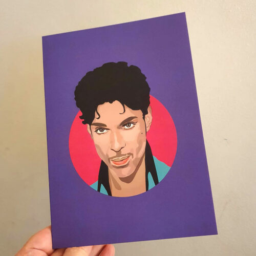 Prince Birthday Card